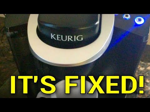 YouTube Fixed My Keurig - It Worked!
