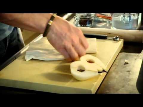 Pear and Rum Tarte Tatin with Vanilla Ice Cream - Gordon Ramsay
