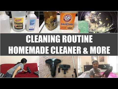 Cleaning Routine + Homemade Cleaner & More Video Recipe | Bhavna's Kitchen