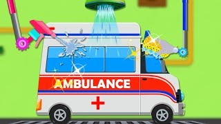 Ambulance Car Wash   Kids Show  For Children   Cartoon Video For Toddlers by Kids Channel