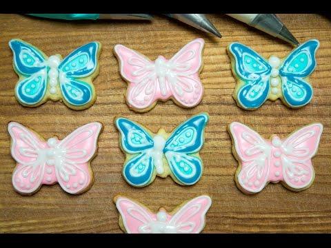 Icing cookies Decor Butterflies