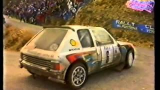 Monte Carlo Rally 1985.  World rally