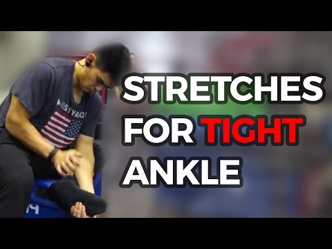 Stretches for Tight Ankle Mobility of Heel