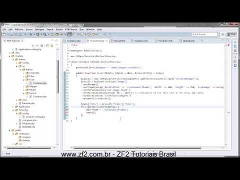 03 - JVUpload - Upload de arquivos agora é fácil com ZF2 com o modulo JVUpload