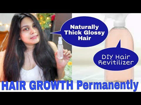 DIY HAIR REVITILIZER For HAIR GROWTH | Get Long THick Glossy HAIR Permanently