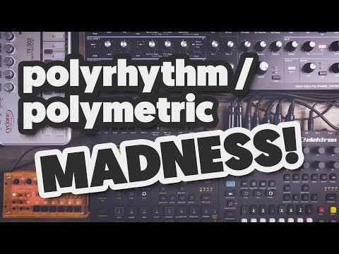 POLYRHYTHMIC MADNESS [digitakt/digitone/peak/tt-303/microgranny]