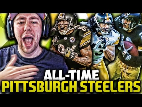 ALL TIME PITTSBURGH STEELERS!!! TROY POLAMALU BABY!!! | MADDEN 17 ALL TIME CHALLENGE