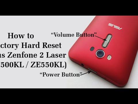 Como Fazer Hard Reset no Zenfone 2 Laser.
