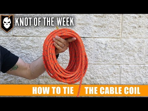 How to Tie the Cable Coil - ITS Knot of the Week HD