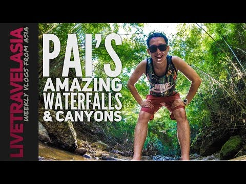 Getting Lost in Pai Waterfalls and Canyons