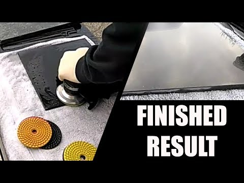 DIY How to Polish Granite Surface and Edges