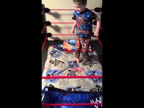 Wrestling ring bed!
