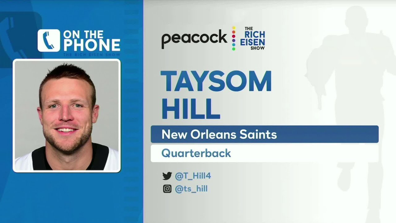 Taysom Hill Talks Brees Injury, Future with Saints & More with Rich Eisen | Full Interview | 12/8/20