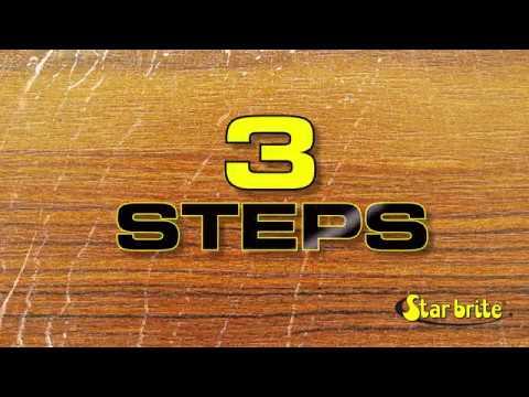 How to Restore Teak Wood with Star brite Teak Care Kit