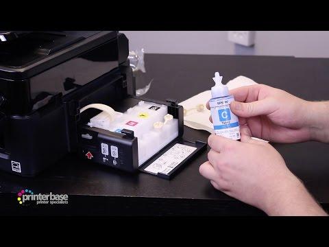 How to refill ink on Epson EcoTank Printers | printerbase.co.uk