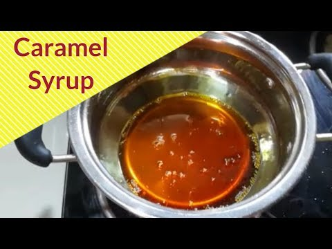 How to make Caramel Syrup for Cakes and Puddings
