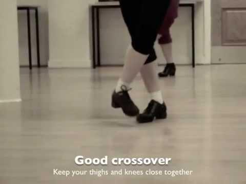 Irish dance: how to do a treble