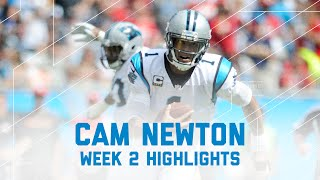 Every Cam Newton Throw 49ers Vs Panthers Nfl Week 2 Player Highlights