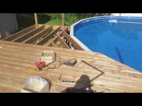 Backyard Pool & Deck Makeover 2016 - 1080p