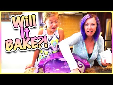 🤔 WILL GIRL SCOUT COOKIES BAKE IN THE REGULAR EASY BAKE OVEN?! 🤔 SMELLY BELLY KITCHEN