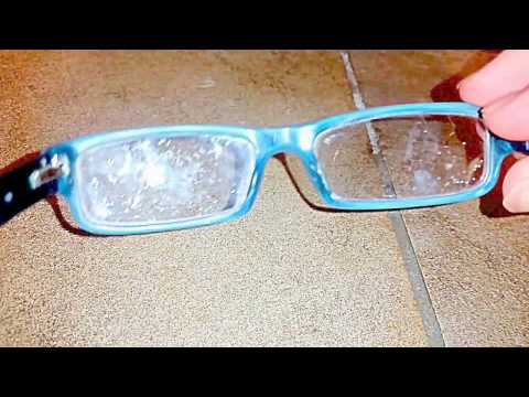 Cleaning Eyeglasses With Dish Soap