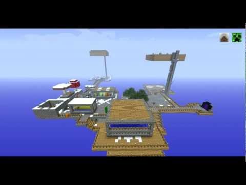 Minecraft SkyBlock 2.1 - Timelapse