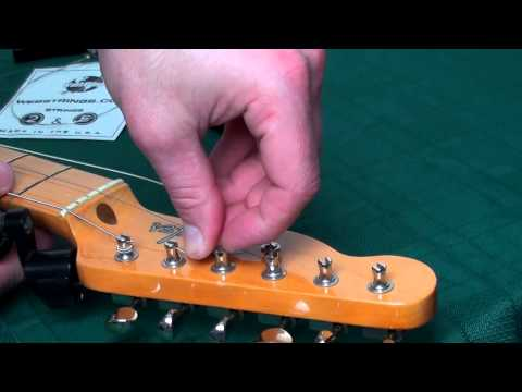 *Updated* How to String a Guitar with Vintage Style Tuners