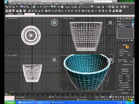 3dsmax cup tutorial