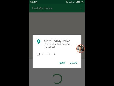 How to Allow Find  My Device to Access Location in Redmi 4 / Note 4