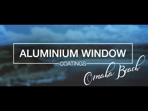 Aluminium Window Coatings - Omaha Beach