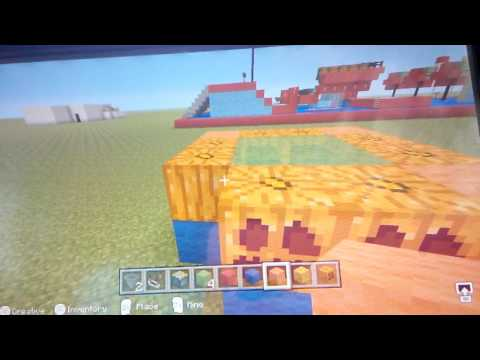 Minecraft bouncy castle easy tutorial
