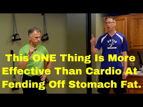 This ONE Thing Is More Effective Than Cardio At Fending Off Stomach Fat