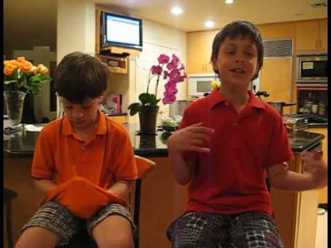 Boys Video Blog for Tuesday