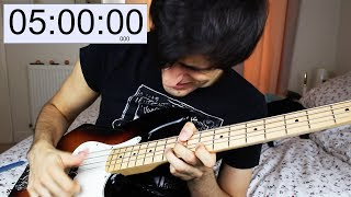 SLAPPING the BASS for 5 HOURS STRAIGHT