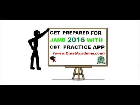 JAMB 2016 CBT PRACTICE