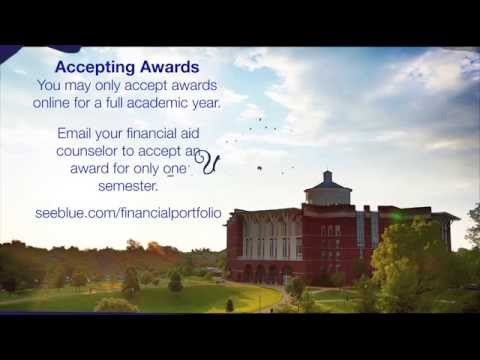 Accepting Your Financial Aid Award Package