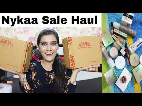 Huge NYKAA Sale Haul 2018 |End of Season Sale | Super Style Tips