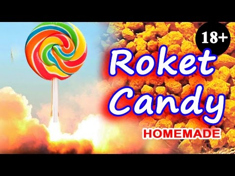 Rocket candy (rocket fuel) for smoke effects and rockets (censored version)