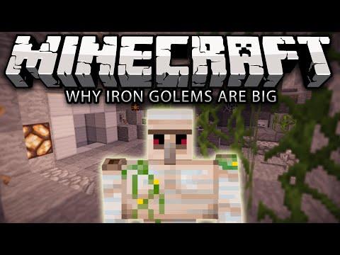 Why Iron Golems Are Big - Minecraft
