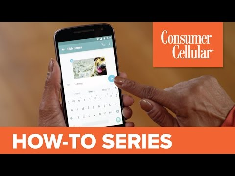 Motorola Moto G4: Sending and Receiving a Text Message (4 of 11) | Consumer Cellular