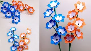Download How to Make Beautiful Paper Stick Flower | Handcraft for Home | Jarine's Crafty Creation Video
