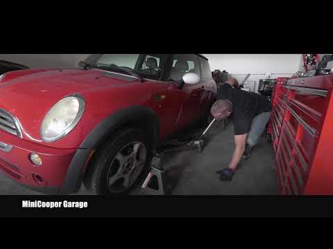 Ho To Lift Mini Cooper on Jack Stands