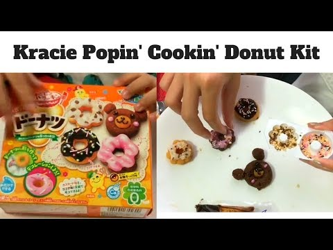 Kracie Popin Cookin Donut Kit (feat. Bosco)