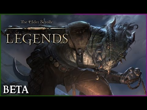The Elder Scrolls: Legends BETA Live Stream! New Skyrim Card Game for Android & iOS!