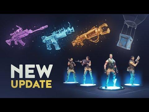 NEW UPDATE (Fortnite Battle Royale)