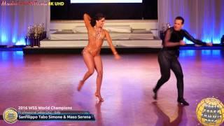 WSS16 Professional Salsa On2 World Champions Sanfilippo Tabo Simone & Maso Serena