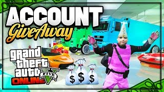 GTA 5 MODDED ACCOUNT GIVEAWAY PS4:XBOX ONE:PS3:XBOX 360