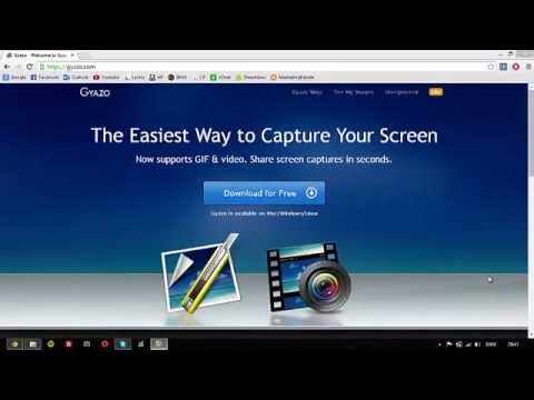 How to Easily Take Screenshots of Desktop - Capture your Screen with Gyazo