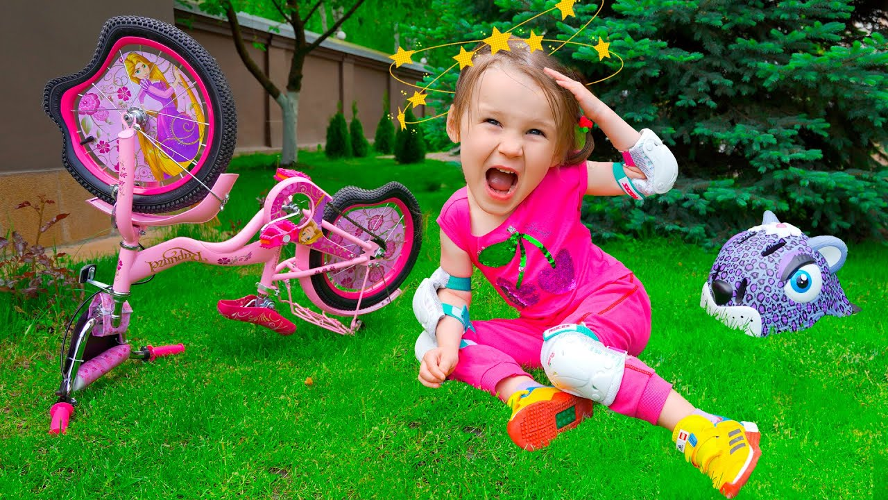 Five Kids Learn Ride a Bike + more Children's Songs and Videos