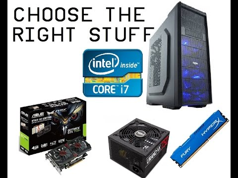 Choose the Right Components for You! - Build a PC //